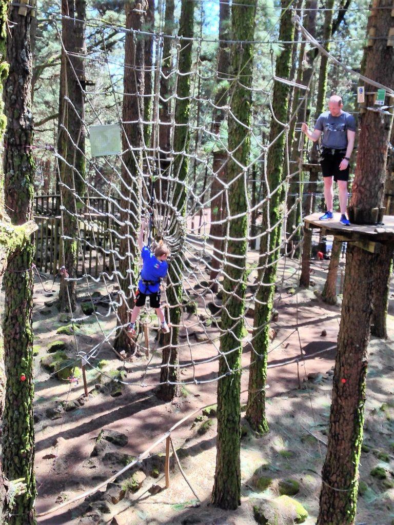 challenge swing Tarzan Tenerife