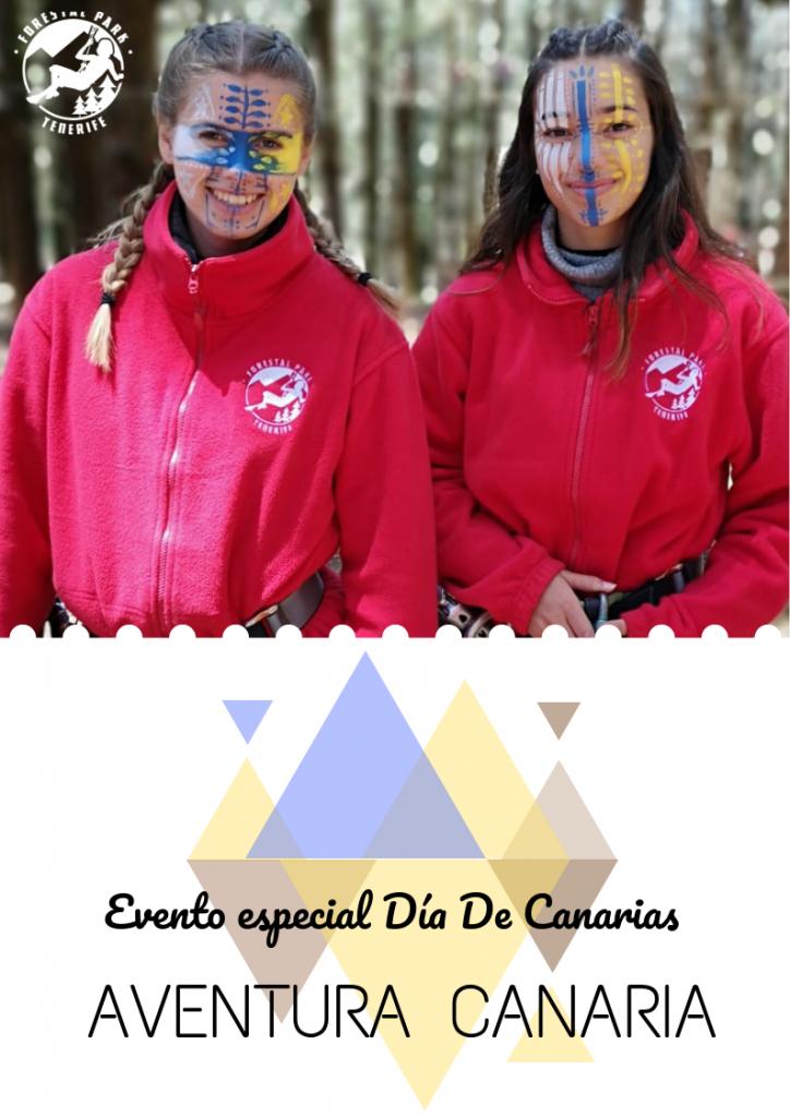 Día de Canarias 2019 evento Forestal Park Tenerife