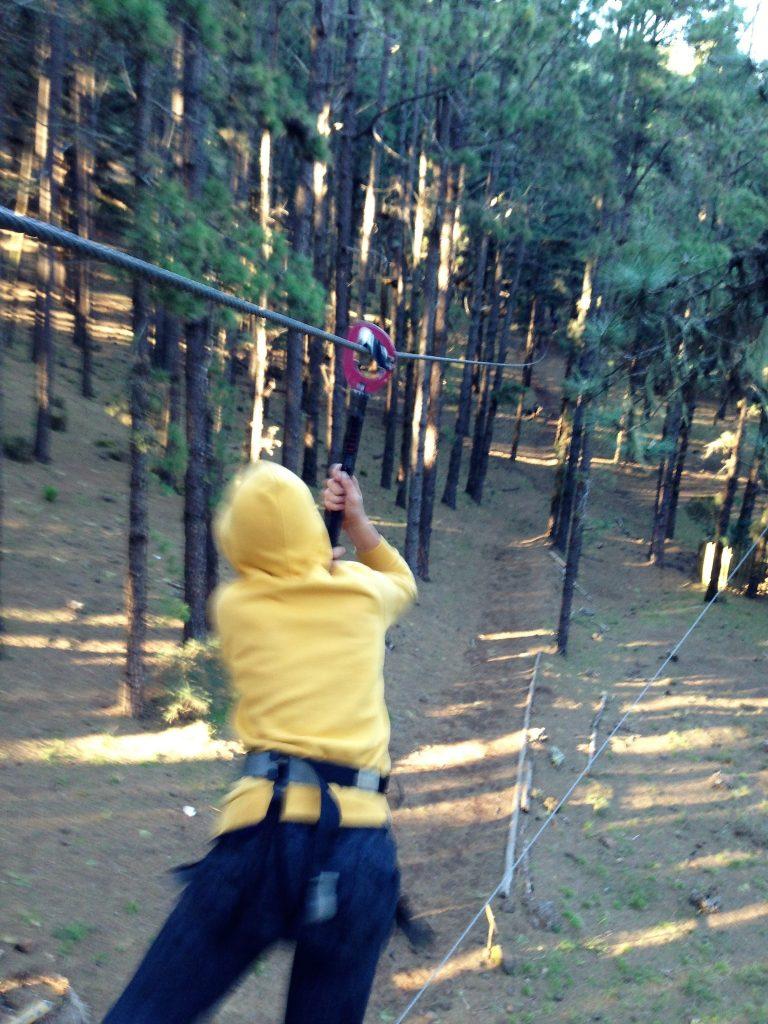 zipline challenge tenerife