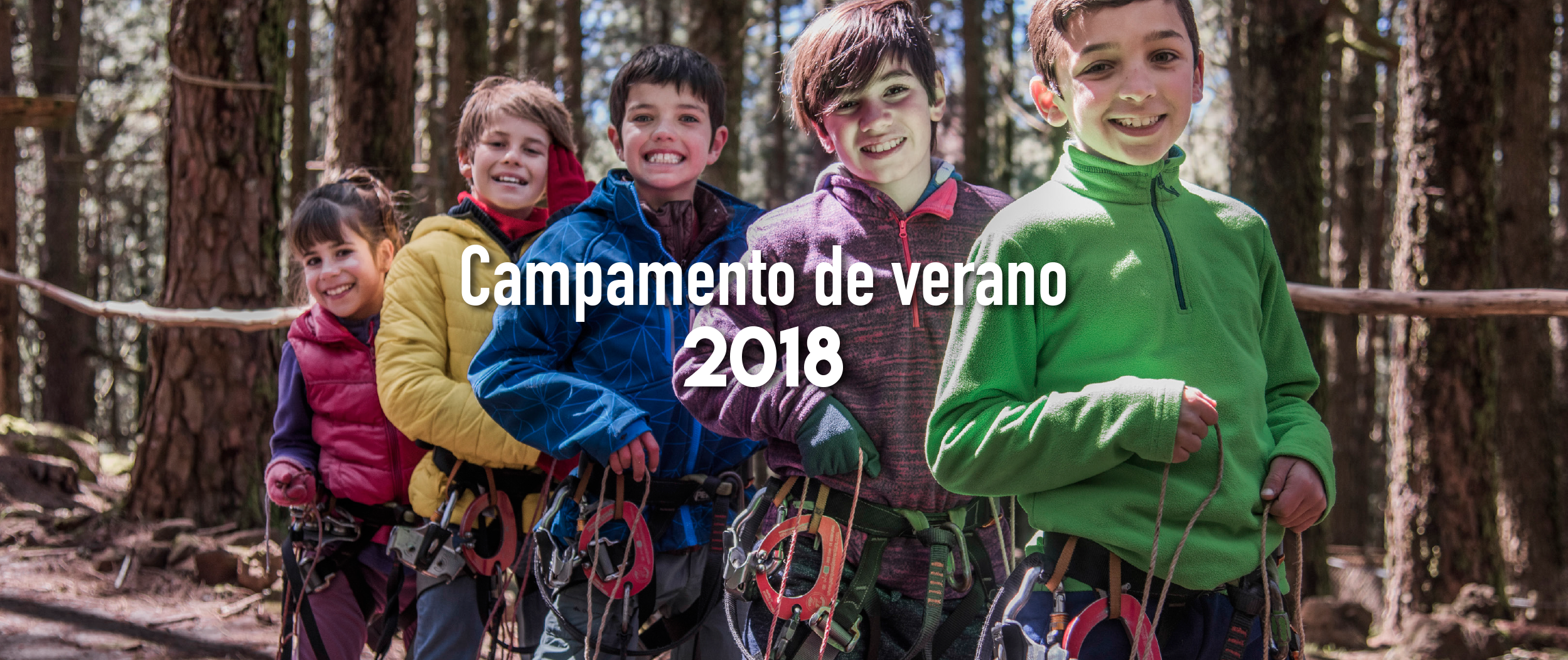 campamento de verano 2018 forestal park tenerife